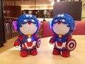 Высокое Качество Кошка Doraemon Железный Человек Капитан Америка 10000 мАч Power Bank портативный usb зарядное устройство Для iphone6 samsung s6
