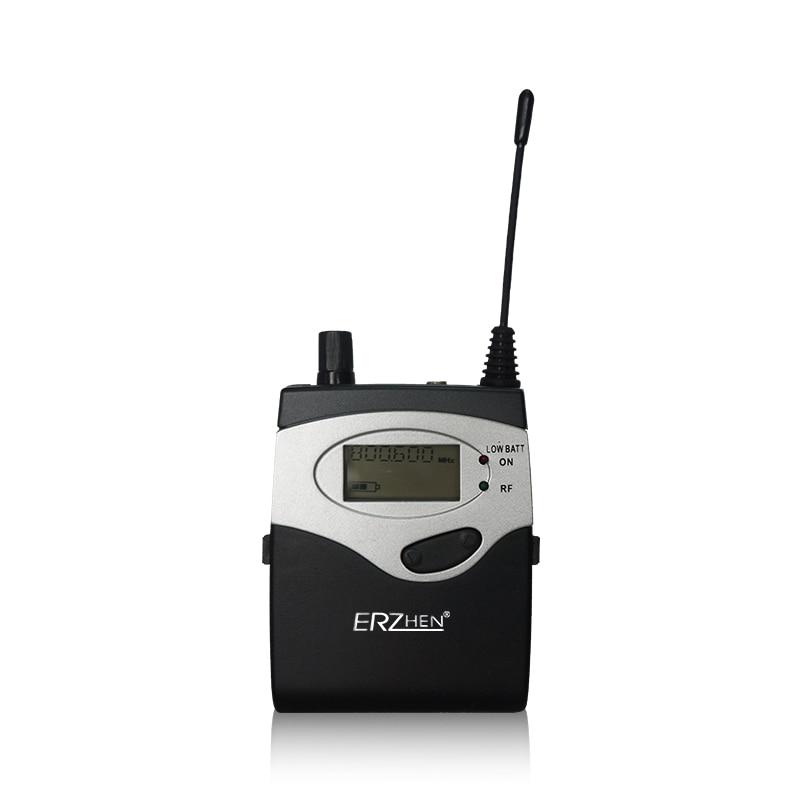 Paquete de 5 receptores Sistema de monitor auditivo inalámbrico, - Audio y video portátil - foto 5