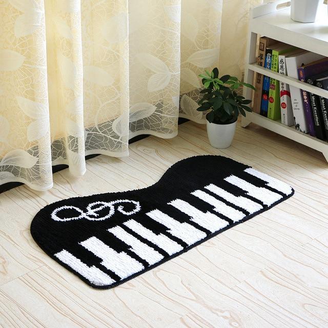 aliexpress : buy piano keyboard carpet size 45*80/50*120cm