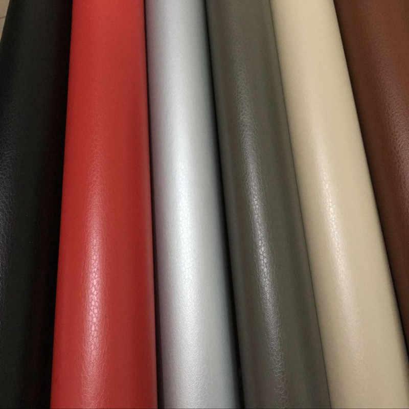 30cm x 100cm grão de couro vinil para painel do carro painel interno diy envoltório decalques adesivo pvc estilo do carro etiqueta