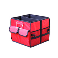 High Quality Oxford Stowing Tidying Interior Holders Car Foldable Trunk Organizer Storage Bags Universal Auto Rear