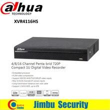 DAHUA XVR4116HS 16 Channel 720P 1U Digital Video Recorder Support HDCVI/ AHD/TVI/CVBS/IP video inputs Support 1 SATA HDD