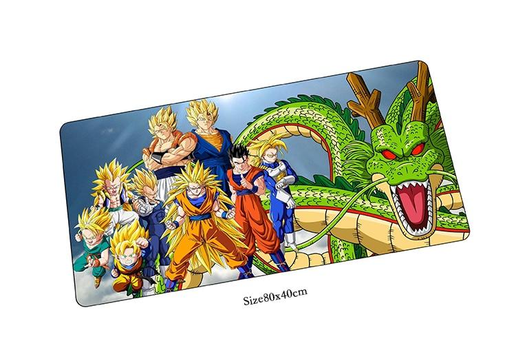 Dragon Ball Коврик для мыши большой коврик для мыши Notbook коврик для компьютерной мышк ...