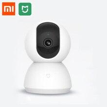 Xiaomi mijia كاميرا للرؤية الليلية الذكية ، كاميرا بزاوية 360 درجة ، 1080 بكسل ، WiFi ، إصدار كامل مع وظيفة التحريك والإمالة