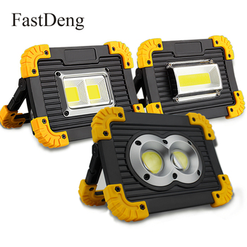 Портативный свет 20 Вт 400лм Светодиодный прожектор портативные прожекторы прожектор 5 в Usb Перезаряжаемый супер яркий прожектор ручной >> FastDeng -Lighting Store