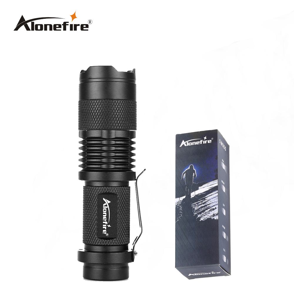 AloneFire SK68 mini flashlight 7w Torch Holder LED Flashlight lights Lamp Front Torch Waterproof Bicycle Light Bike