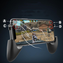 For PUBG Mobile S7 Rechargable Wireless Gamepad Joystick Game Holder Bluetooth Controller iOS 2-in-1 Handle And Bracket