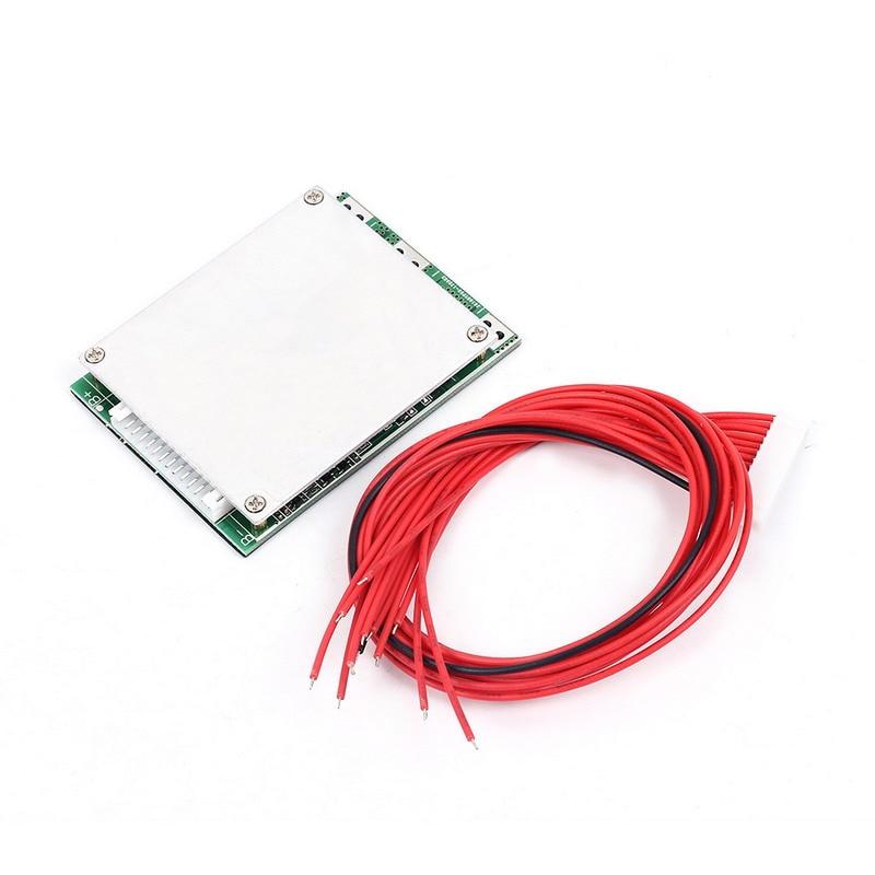 Au lithium Charge de La Batterie Panneau de Protection 20A 48 V Fonction Équilibré Pour 13 pcs Batterie Au Lithium Équilibre de charge