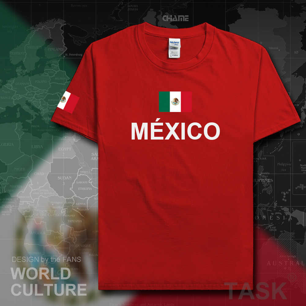 243199ba8 ... United Mexican States Mexico t shirt men casual jersey 2017 t-shirts 100%  cotton ...