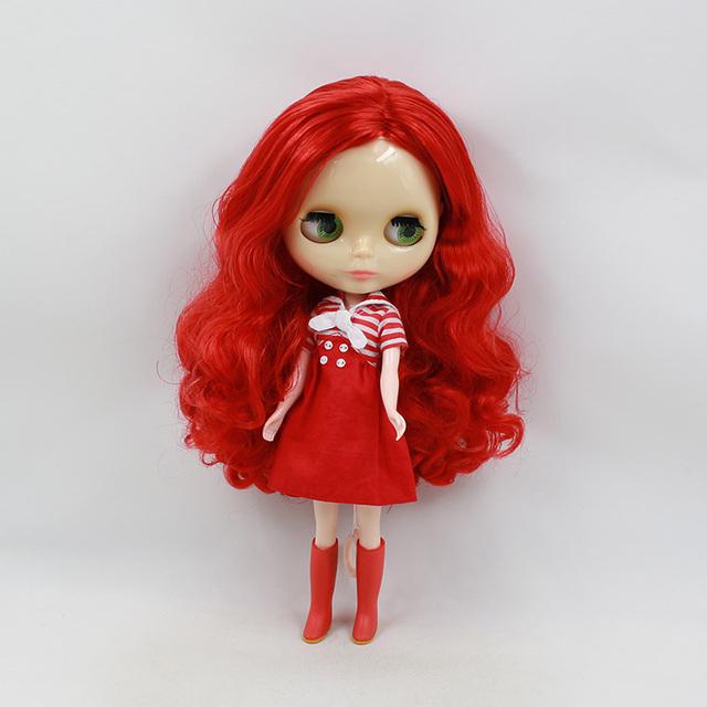 ICY Neo Blythe Doll crvena kosa redovno tijelo