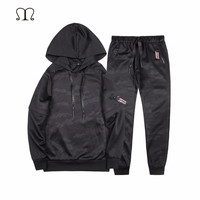 Two Piece Set Tracksuit Set For Men Clothing Brand Clothing 2018 Fashion Spring Autumn Men Sporting