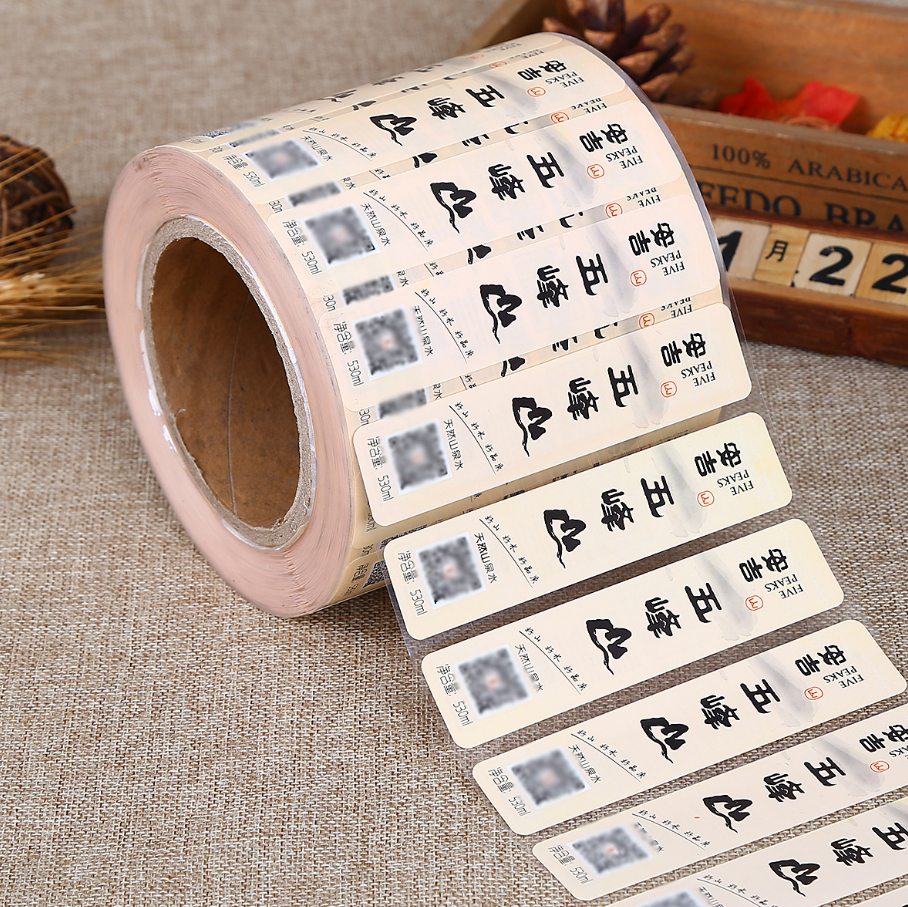 Custom design gloss adhesive paper label common packaging stickers full color printing waterproof stickers with your design free wholesale custom design shaped pvc die cut self adhesive waterproof vinyl sticker printing label