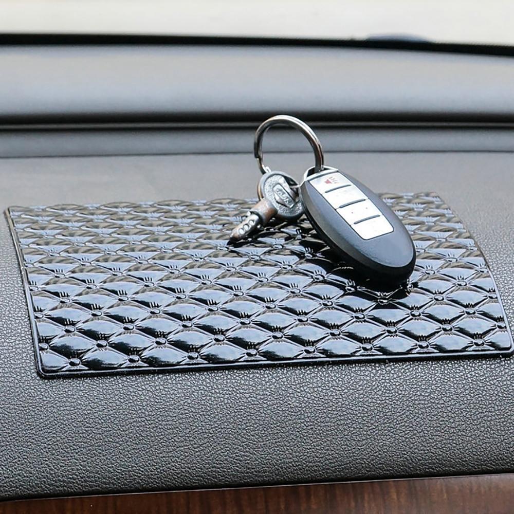 Car Ornament PU Magic Anti-Slip Mat For GPS Phone Sunglass Automobile Interior Dashboard Sticky Pad Non Slip Cushion Accessories