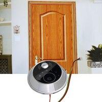 Worldwide 2.8 digital door peephole viewer security lcd peephole door viewer sensor Monitor Peep Hole Viewer Camera Video DIY