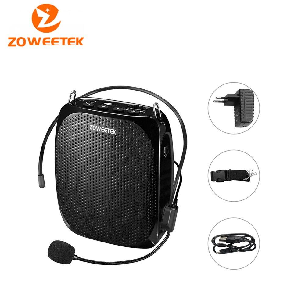 Genuine Zoweetek ZW-258 mini portable Stereo Speaker Voice Amplifier Loudspeaker Tool Device For Teaching Tour Guide Sale Speech цена и фото
