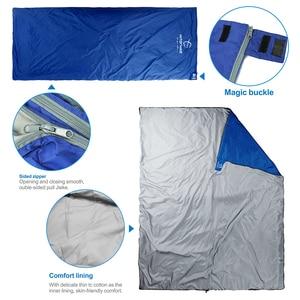 Image 2 - Hitorhike 75 x 190CM  Mini Outdoor Ultralight Envelope Sleeping Bag Ultra small Size For Camping Hiking Climbing suit 3 seasons
