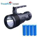 TrustFire DF009 CREE XHP70 LED 1600 Lumens 2 Modes Diving Flashlight Torch Lanterna Power By 4*18650 Batteries