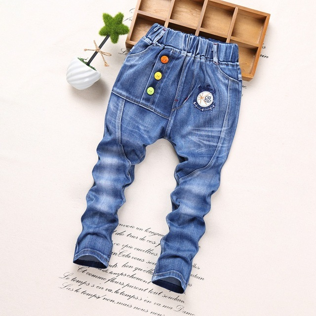 2017 neue ankunft jungen coole jeans hose kinder denim. Black Bedroom Furniture Sets. Home Design Ideas
