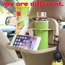 купить Wakas Multifunctional Car Chair Back Table Catering Tray  Folding Plate Beverage Frame Vehicle Water  Cup Frame по цене 633.58 рублей