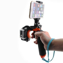 Universal Floating Hand Grip Floaty Handle w/ Pistol Trigger Shutter Stabilizer Kit for GoPro Hero 5 4 Xiaomi Yi 4K Accessories