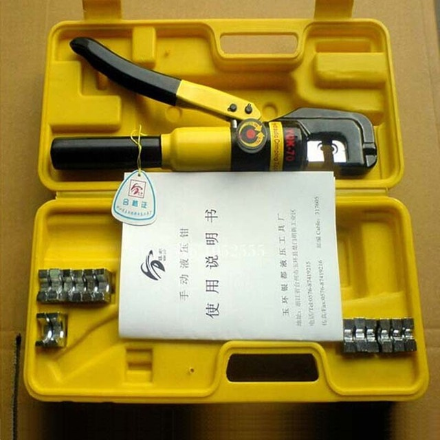 High Quality 1PCS Hydraulic Crimping Tool Hydraulic Crimping Plier Hydraulic Compression Tool YQK-300 Range 16-300MM2 K38-3