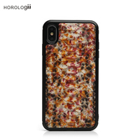 Horologii Colorful mobile phone accessories Snake Skin leather for iphone X Max case Luxury Fashion with gift box dropship