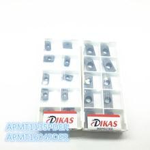 10 шт. APMT1135PDER и 10 шт. APMT1604PDER HRC50~ фрезерный станок с ЧПУ для резки соответствовать Карбидное лезвие