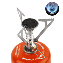 APG Mini Camping Oven Gas Stove Portable Cooking System Pocket Picnic Igniter Cooking Gas Burners Cooker