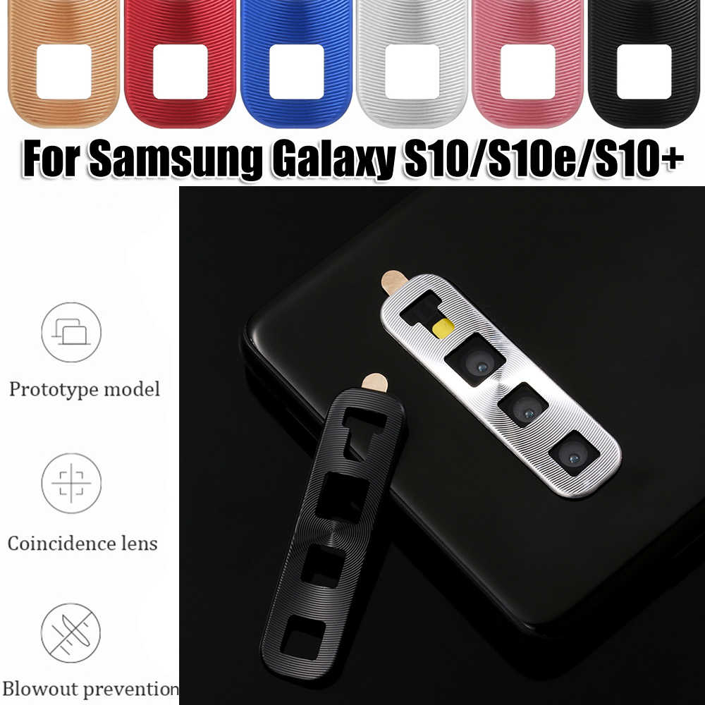 Mini Luxury Camera Lens Protector Shockproof Metal Aluminum Ring Protective Case Full Cover For Samsung Galaxy S10 S10+ S10e