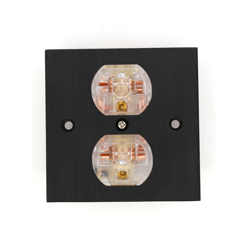 HI End Copper US AC Power Outlet Socket Distributor Duplex Receptacle|Plug & Connectors| |  - title=