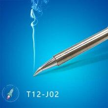 QUICKO T12-J02 JL02 Schweißen eisen tipps für FX9501/951/907 T12 Griff OLED & STC-LED T12 Löten station 7 s schmelzen tin