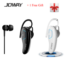 Joway H02 V4.1 Bluetooth Stereo Headset Cordless Headphones with Mic HD Dual Track CVC6.0 Handsfree Earphone for SmartPhone PC