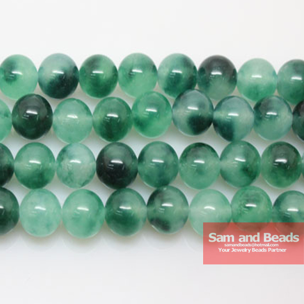 Malachite Smooth Round Beads 16 Strand 10mm