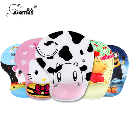 Mouse & Keyboards Maiyaca New Anti-slip Pc My Neighbour Totoro Anime Umbrellas Silicon Mouse Pad Mat Mice Pad For Optical Elegant Shape