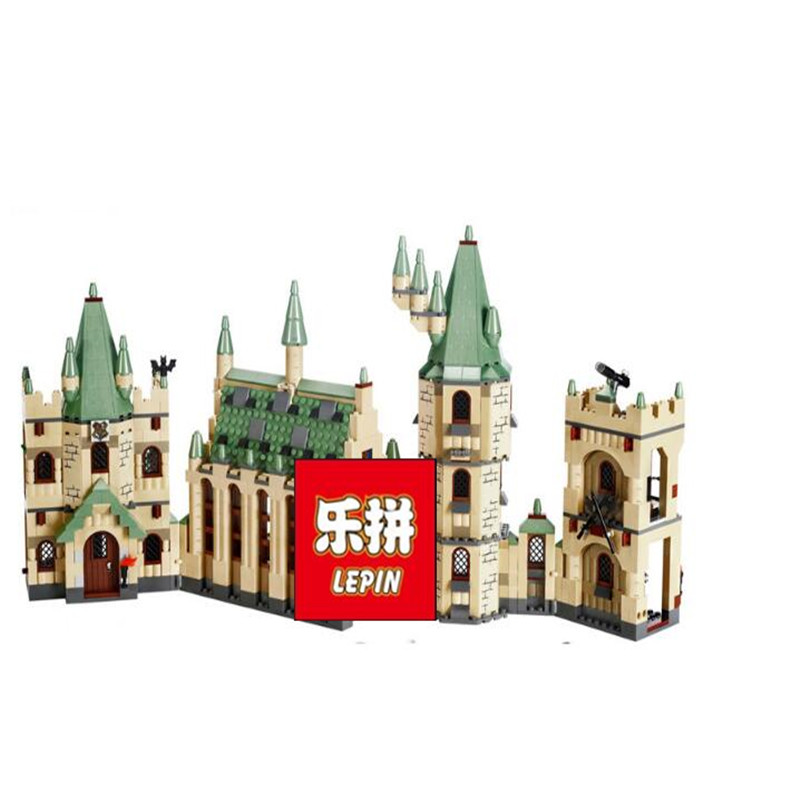 Lepin Creative Movies Set 16030 Hogwart's Castle Model Building Blocks Bricks Toys Clone 10217 4842