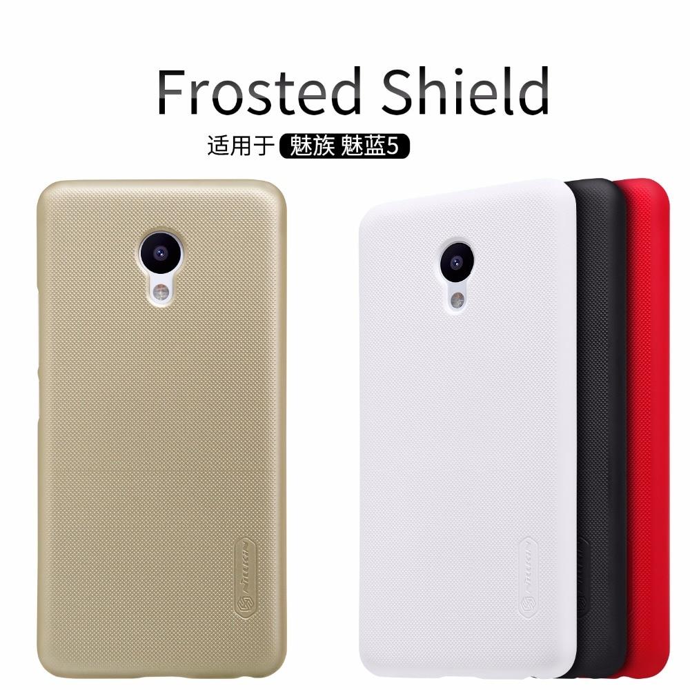 Meizu M5 tok Meizu M5 mini 5,2 hüvelykes fedél NILLKIN Super - Mobiltelefon alkatrész és tartozékok