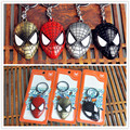 Super Hero Spider-man The Amazing Spiderman Keychain Metal Key Chain Alloy Key Rings Key Holders Wholesale Size 6*4cm