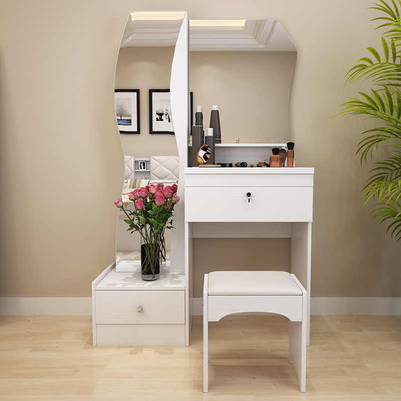Modern White Dressing Table: Dressing Table White Modern Simple Fashion Multifunctional
