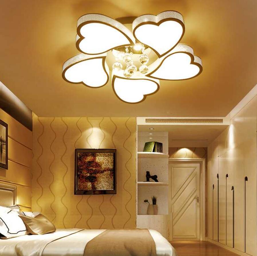 Romantic fashion led heart shaped Ceiling Lights