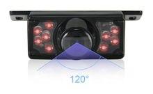 Короткая Рамка номерного знака Камера Заднего Вида Для Парковки Задним Ходом резервного копирования Ночного видения ИК HD CCD Автомобильная Камера Заднего вида