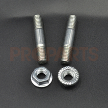 Bar Nut and Stud Pair Fit Chinese Chainsaw 4500 5200 5800 45CC 52CC 58CC