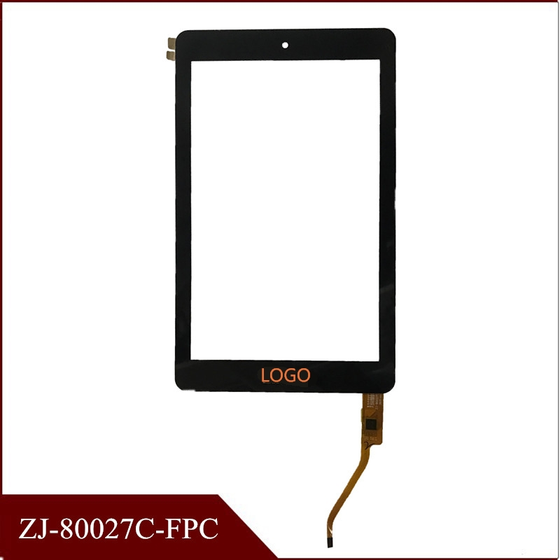 Высокое качество 8 дюймовый ZJ 80027C FPC сенсорный экран панель дигитайзер стеклянный датчик емкостной экран планшет тачскрин с бесплатной дост