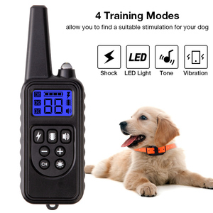 Image 2 - 800m Electric Dog Training Collar Pet Remote Control Waterproof Rechargeable with LCD Display for All Size Shock Vibration Sound