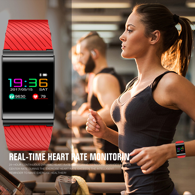 Smart Bracelet Watches Blood Pressure Blood Oxygen Heart Rate Detection Color Screen OLED sports watch Fitness tracker Pedometer