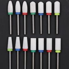 Keramische Frees voor Manicure Keramische Diamant Nail Boor voor Manicure Machine Nozzle voor Manicure Snijders voor Nail Art