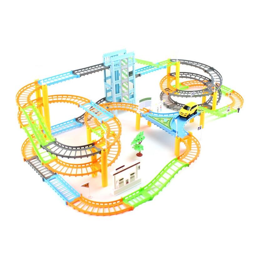 Électrique wagon jouet Haute-vitesse railcar électrique puzzle railcar jouets rc voiture de jouet enfants jouets pour enfants à distance contrôle de voiture