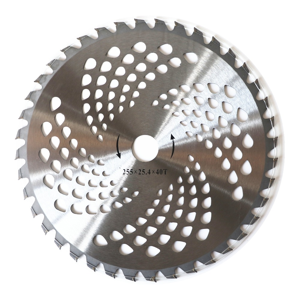 """40T  Teeth Carbide Blade For Brush Cutter Strimmer Accs 25.4mm Bore Diameter 10/"""""""