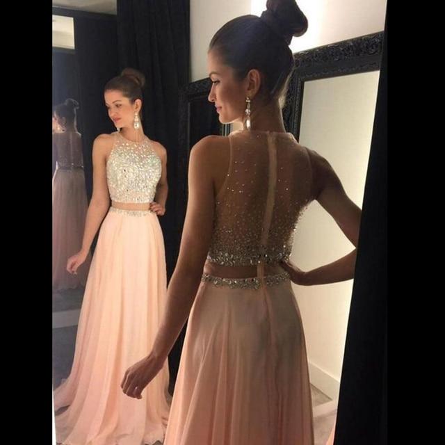 tidetell pink prom dresses 2017 modern elegant long plus size party evening dresses zipper. Black Bedroom Furniture Sets. Home Design Ideas