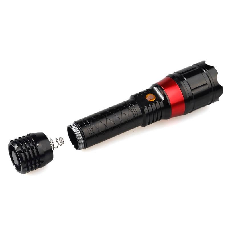 Portable take Strong light flashlight Red laser flashlight Laser Flashlight Two unity