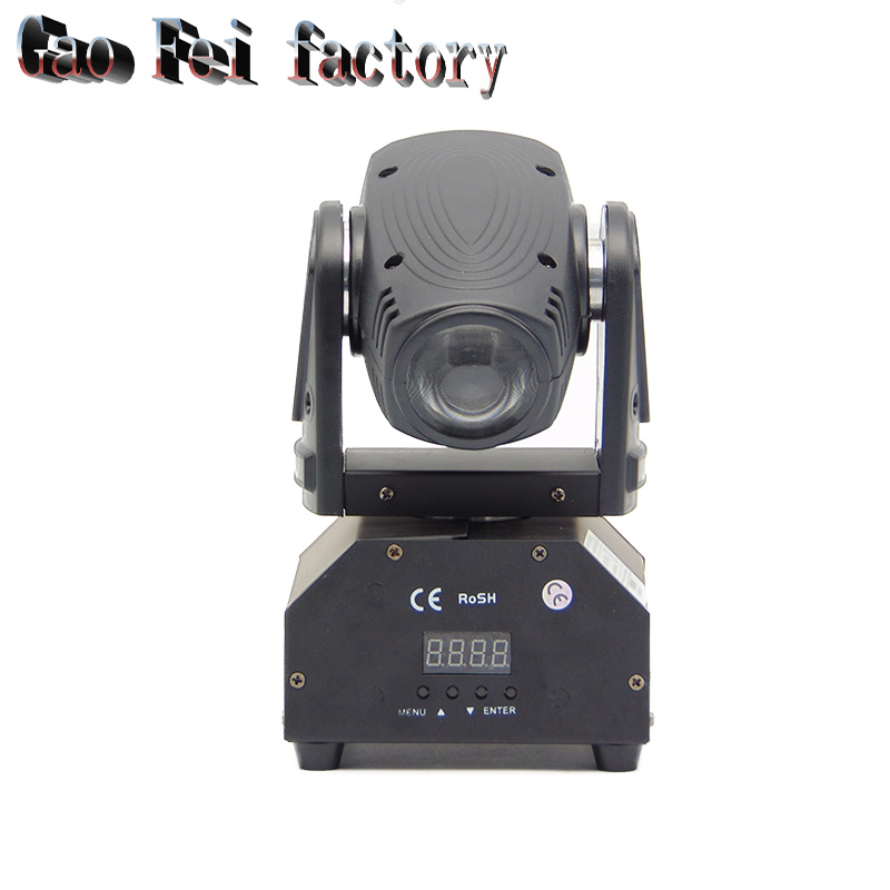 led rgbw 10W beam lights dmx512 led spotlight moving head lights professional stage dj equipment disco light стоимость